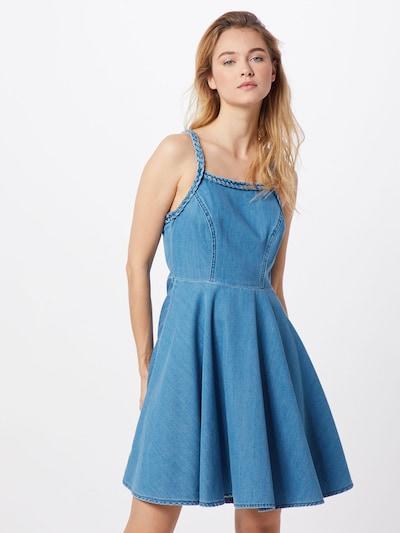 LTB Sukienka 'LEDA' w kolorze niebieskim, Podgląd na modelu(-ce)