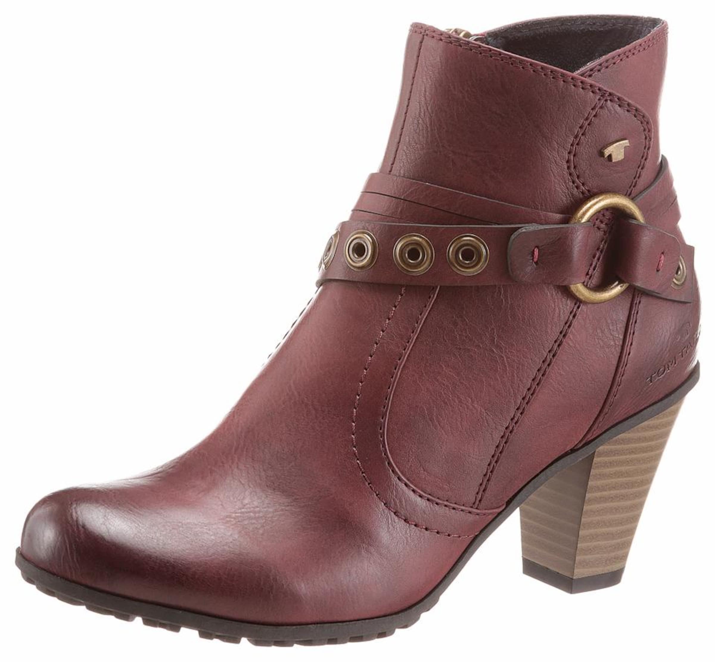 Haltbare Mode billige Schuhe TOM TAILOR | Stiefelette Schuhe Gut getragene Schuhe
