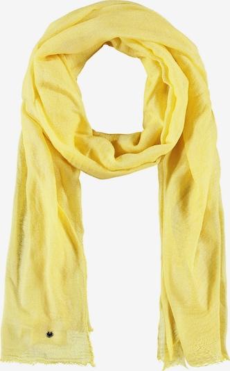 TAIFUN Schal Softer Uni-Schal in gelb, Produktansicht