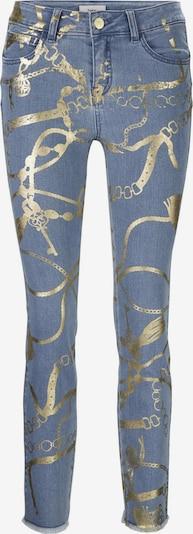 heine Jeans in blue denim / gold, Produktansicht