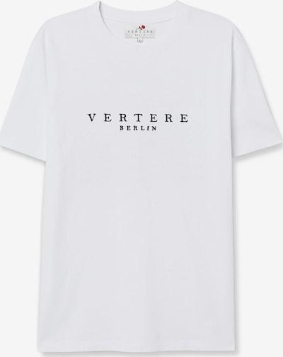 Vertere Berlin Shirt in de kleur Zwart / Wit: Vooraanzicht