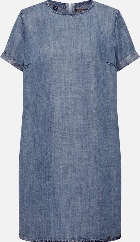 Superdry Kleider 'SHAY TEE DRESS' in blau  Markenkleidung Markenkleidung Markenkleidung für Männer und Frauen a4f8af