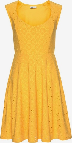 BEACH TIME Letné šaty - Žltá