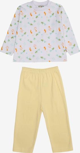 LILIPUT Pyjama in gelb / weiß, Produktansicht