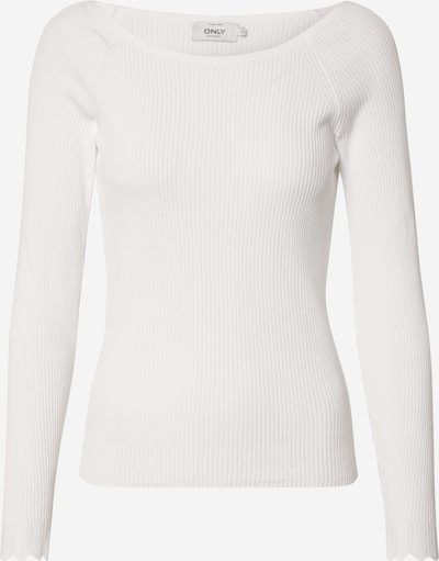 ONLY Pullover in offwhite: Frontalansicht