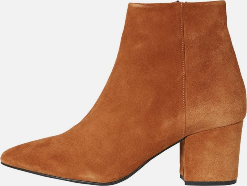VERO MODA Ankle Stiefel Leder Markenrabatt