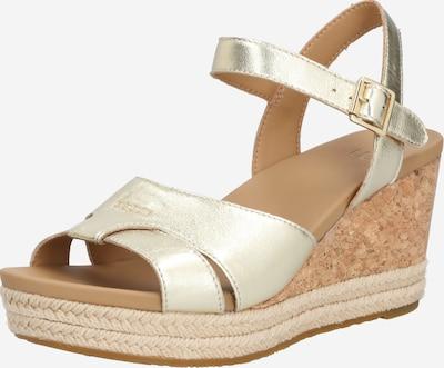 UGG Sandale 'W CLOVERDALE' in braun / gold, Produktansicht