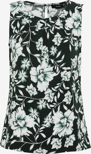 HALLHUBER Blusentop in schwarz / weiß, Produktansicht