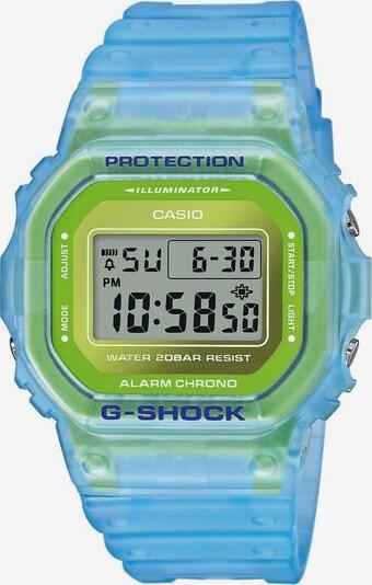 CASIO Uhr 'DW-5600LS-2ER' in hellblau / hellgrün, Produktansicht