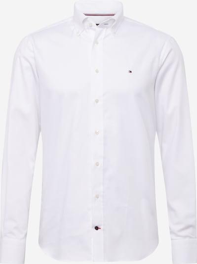 Tommy Hilfiger Tailored Košile 'DOBBY' - bílá: Pohled zepředu