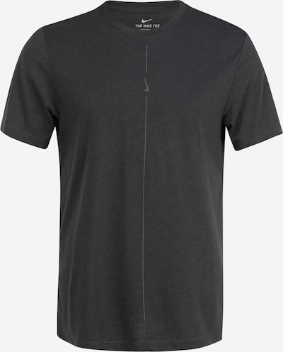 NIKE Trainingsshirt in anthrazit, Produktansicht