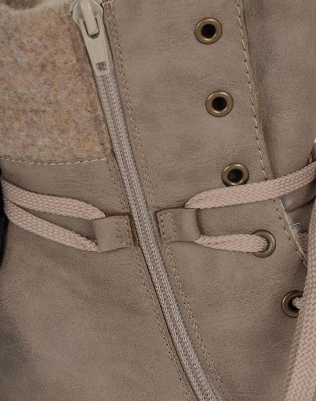 RIEKER Schnürstiefel mit Fleece Günstige und langlebige Schuhe