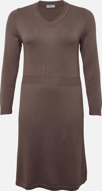 SHEEGO Kleid in taupe, Produktansicht