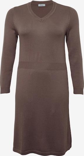 SHEEGO Kleid in taupe, Produktansicht
