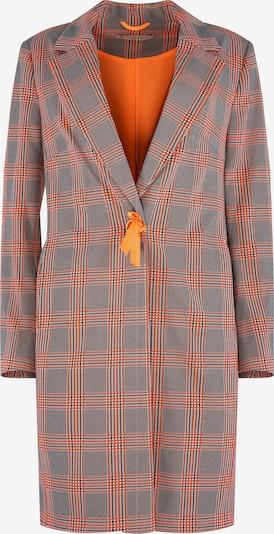 THOMAS RATH Mantel ' Rom ' in grau / orange, Produktansicht