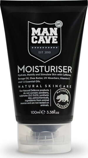 ManCave 'Moisturiser' Tagespflege für Männer in schwarz, Produktansicht