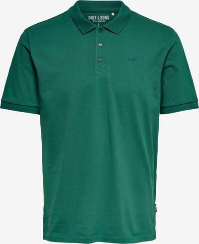 Only & Sons Shirt in de kleur Jade groen, Productweergave