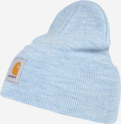 Carhartt WIP Bonnet en bleu chiné, Vue avec produit