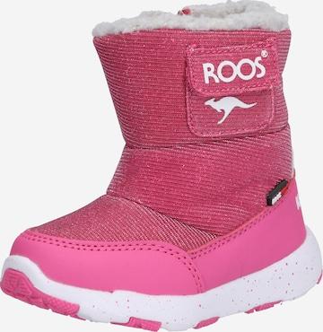 KangaROOS Snowboots 'Snowball' in Pink