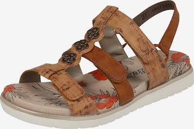 RIEKER Sandalen in hellbraun, Produktansicht