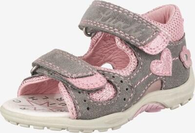 LURCHI Sandalen in grau / rosa, Produktansicht