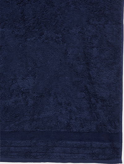 TOM TAILOR Handdoek in de kleur Nachtblauw, Productweergave