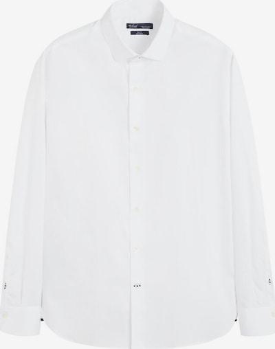 MANGO MAN Hemd in weiß, Produktansicht