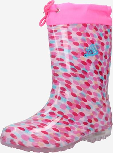 Stivale di gomma 'Power Blinky' LICO di colore turchese / rosa / rosa, Visualizzazione prodotti