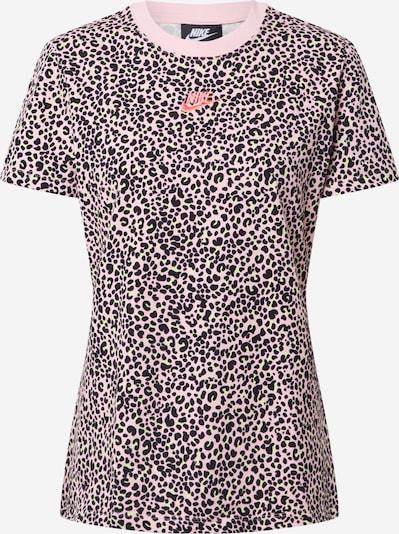 Nike Sportswear Shirt in pink / schwarz, Produktansicht