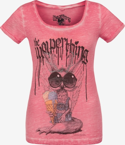 STOCKERPOINT Shirt 'Wolpermadl' in mischfarben / pinkmeliert, Produktansicht