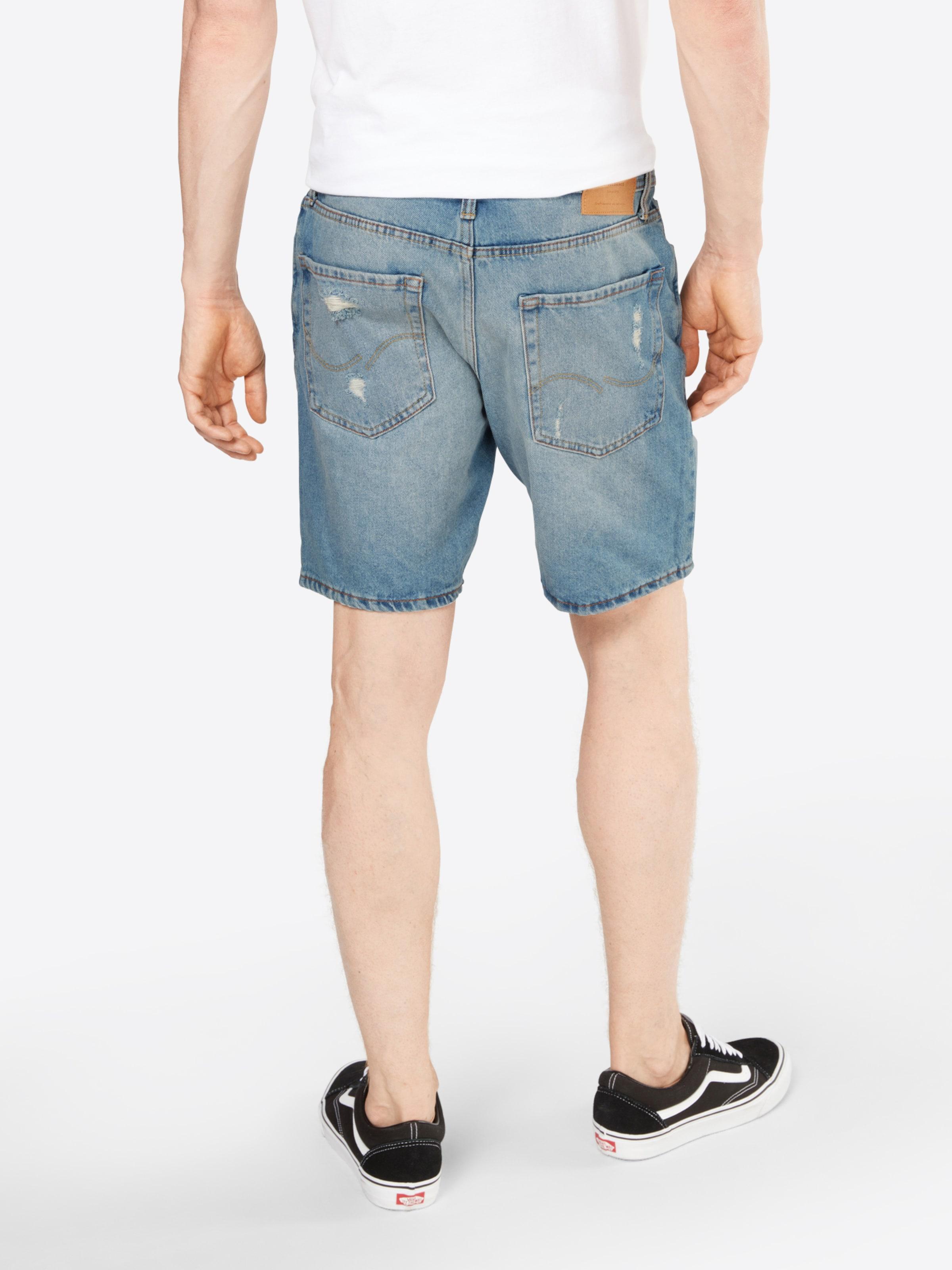 Jackamp; Jones Denim Shorts 'jjirick In Blue Camp' HWED9I2