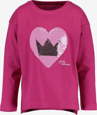 BLUE SEVEN Shirt in grau / pink / hellpink, Produktansicht