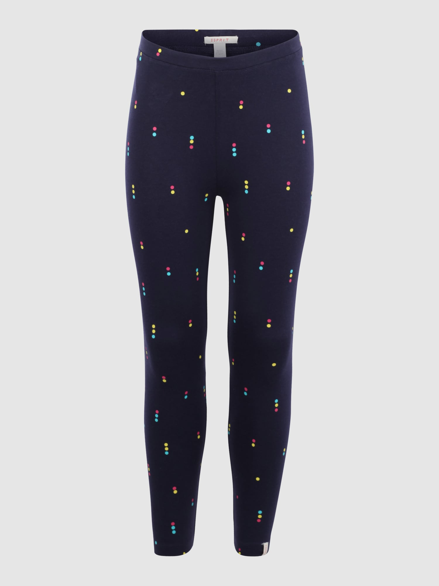 esprit leggings mit punkte muster in blau about you. Black Bedroom Furniture Sets. Home Design Ideas