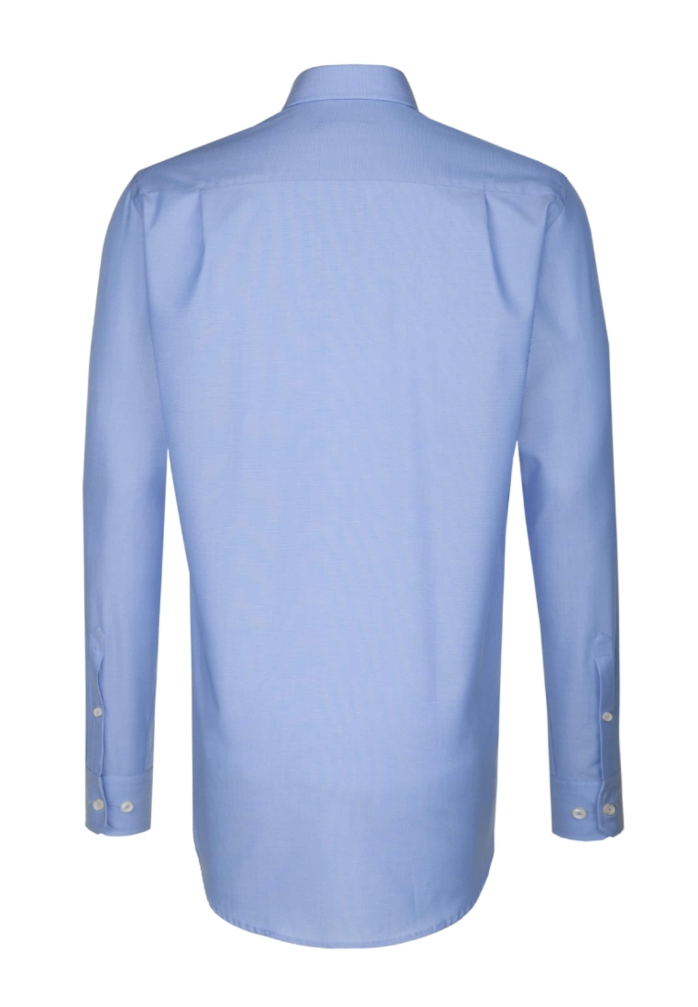 'modern' Blau City hemd In Seidensticker JFcT1lK