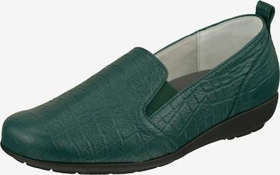 Natural Feet Instappers in de kleur Smaragd, Productweergave