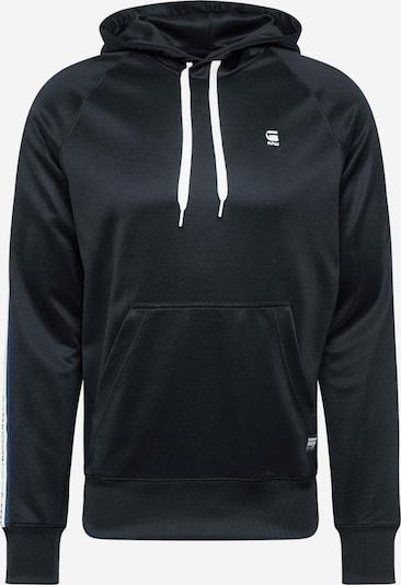 G-Star RAW Sweatshirt 'Alchesai or core' in de kleur Zwart / Wit, Productweergave