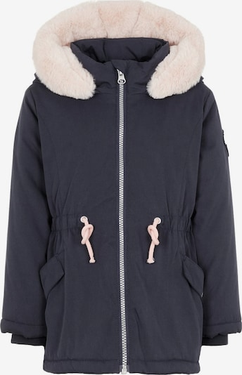 NAME IT Parka in creme / nachtblau, Produktansicht