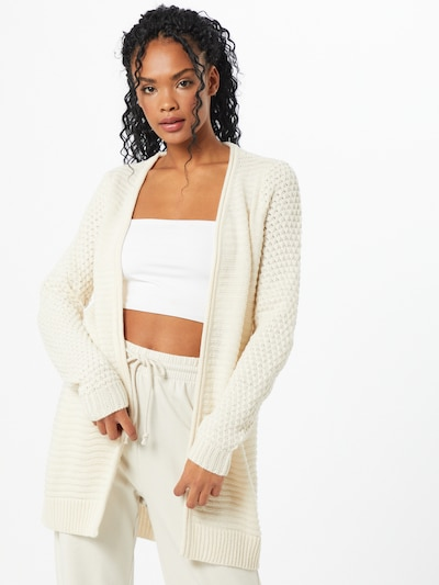 VERO MODA Gebreid vest in de kleur Wit, Modelweergave