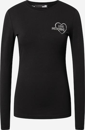 Love Moschino Shirt in schwarz / silber, Produktansicht