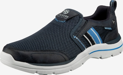 Dockers by Gerli Slip On tenisice u plava / tamno plava / tamo siva / bijela, Pregled proizvoda