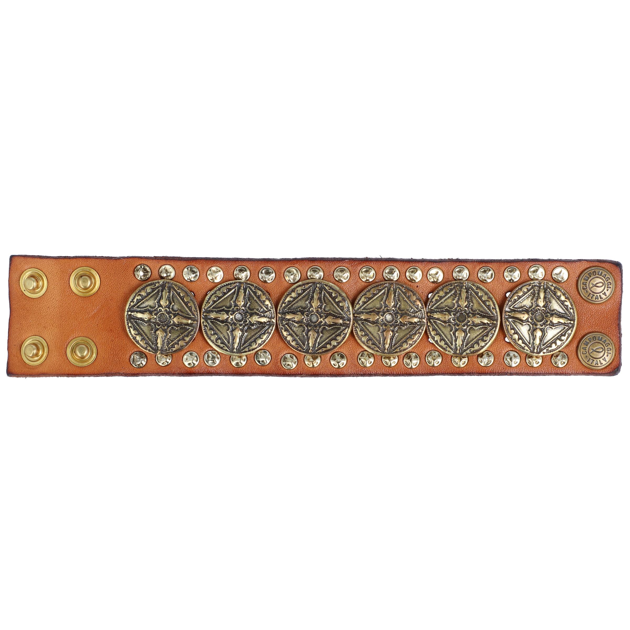 CognacGold In Campomaggi 20 Cm Armband j435RcqSAL