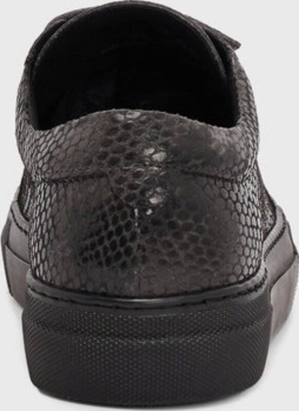 Haltbare Mode billige Gut Schuhe J.Lindeberg | Klettverschluss-Schlangenleder Sneaker Schuhe Gut billige getragene Schuhe 530369