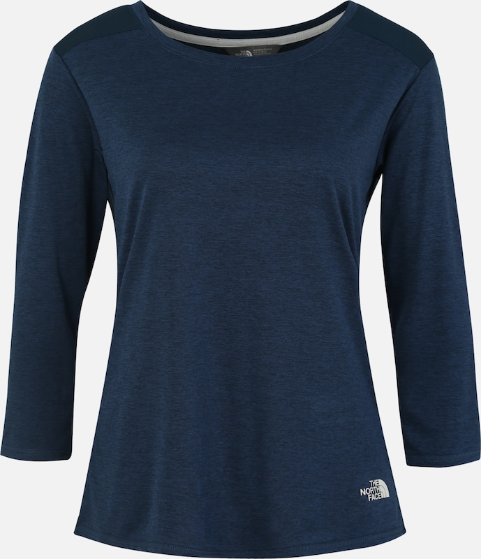 'inlux' BlauwWit The Functioneel Shirt North Face In hQtBsrCdxo
