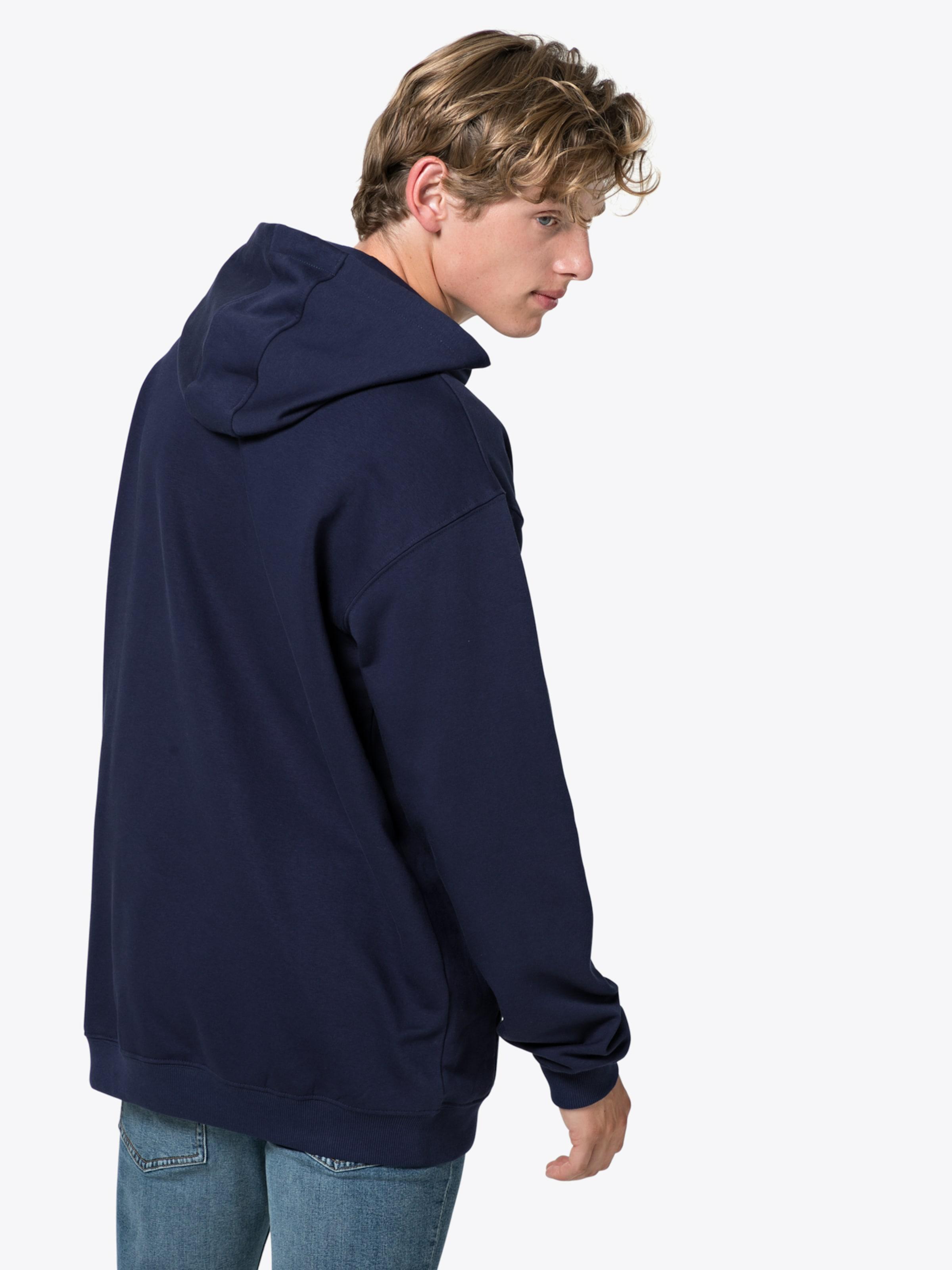 Hood Hoodie 'classic In Logo BlauWeiß Fila Kangaroo' dCeEoxBQrW
