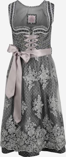 MARJO Kleid '013 Melida' in anthrazit / rosa, Produktansicht