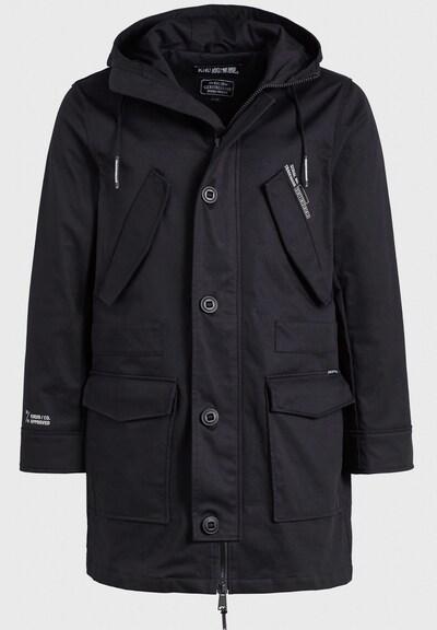 khujo Mantel ' DAREL ' in schwarz, Produktansicht