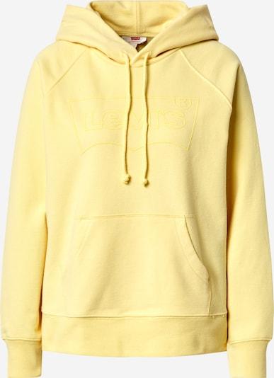 LEVI'S Hoodie 'GRAPHIC' in gelb, Produktansicht
