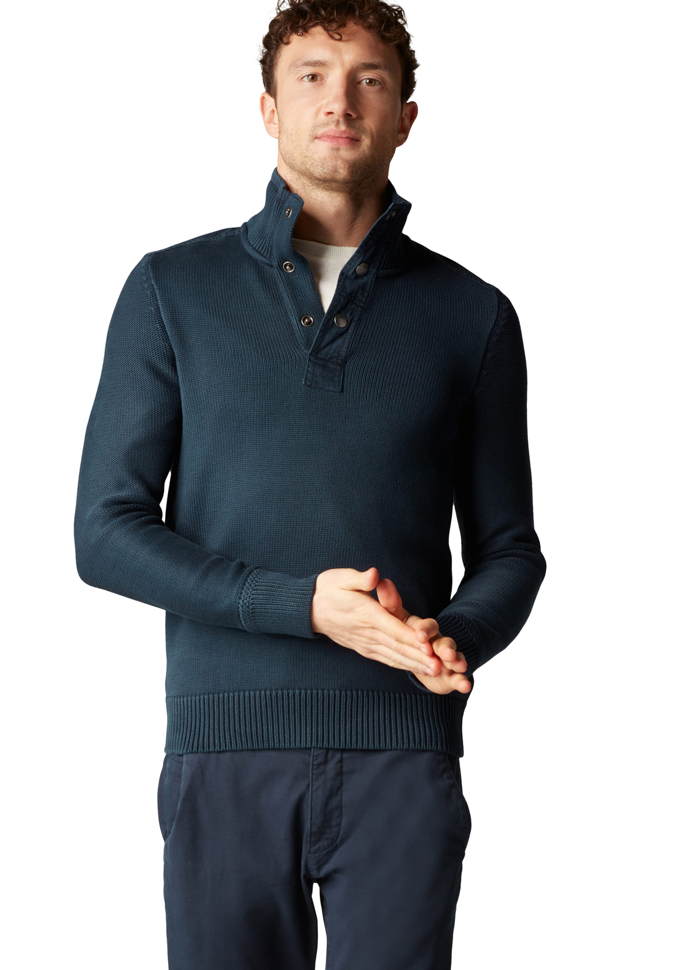 Strickpullover O'polo Nachtblau Marc In htrdCQs