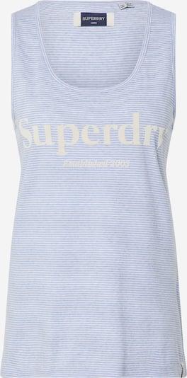 Superdry Top 'SUMMER HOUSE' in blau, Produktansicht