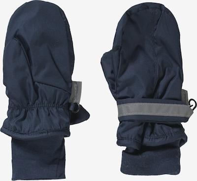 STERNTALER Fausthandschuhe in nachtblau / grau, Produktansicht
